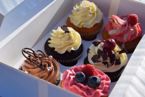 6er Cupcake Box