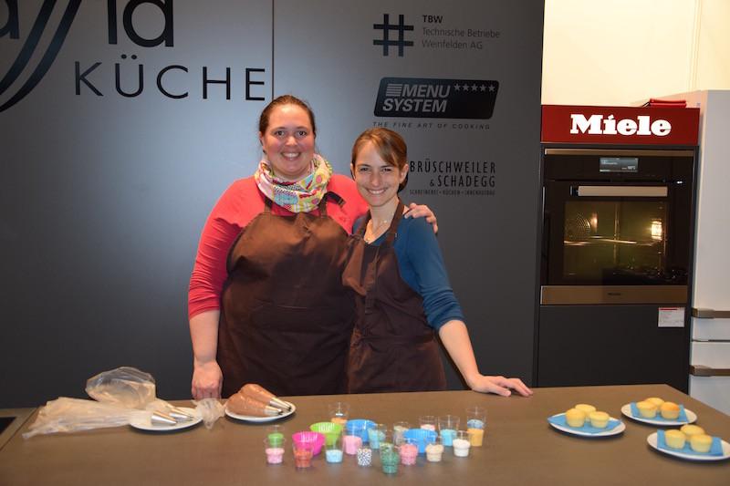 Claudia und Andrea von Lellas Cupcakes