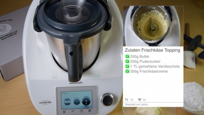 Frischkaese Topping Thermomix