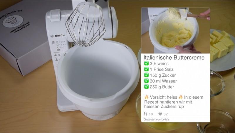 Italienische Buttercreme Rezept